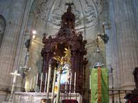 in der Kathedrale in Ronda