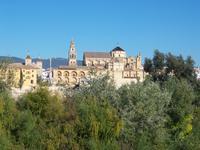 Blick auf die Mezquita in Cordoba