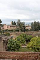 Aussicht in der La Alhambra