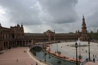 Überblick auf dem Plaza de España