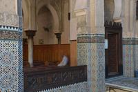Gebet in der Medersa Ben Youssef