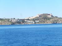 Festung Ibiza von See
