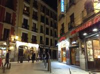 Madrid in Abendstimmung