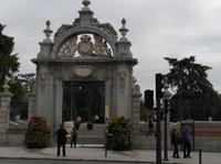 Eingang Retiro Park
