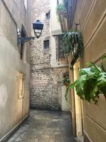 kleine Gassen im gotischen Viertel