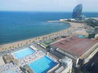 Fahrt mit der Luftseilbahn zum Hafen in Barcelona (2)