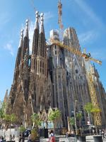Die Sagrada Familia Basilika in Barcelona