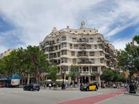 Casa Pedrera von Gaudi in Barcelona (2)