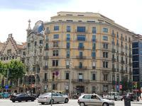 Casa Batló von Gaudi in Barcelona (1)