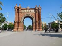 Der Arc de Triomf in Barcelona (1)