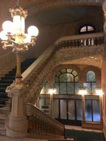 Treppenhaus im Palau de la Mu´sica