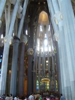 Innenraum Sagrada Familia