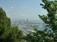 Barcelona - Blick von Montjüic