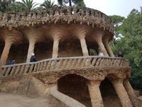 Park Güell von Gaudi in Barcelona