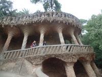 Park Güell von Gaudi in Barcelona (2)