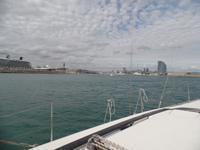 Segelbootsfahrt vor der Küste Barcelonas (12)