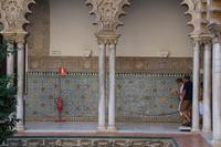 Fliesenmuster in den Reales Alcázares, Sevilla
