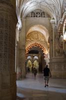 Christliche und maurische Bauelemente in der Moschee-Kathedrale von Córdoba vermischt