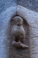 Eule von Notre Dame de Dijon, die muss man mit der linken Hand streicheln, dann erfüllt sich dem Volksglauben zufolge ein Wunsch