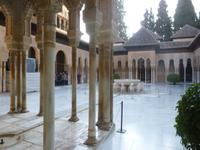 Alhambra Granada, Löwenhof