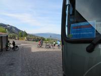 Start zu unser ersten Radtour