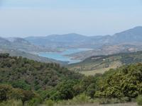 Ausblick Sierra de Grazalema