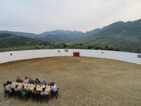 Abendessen in der Stierkampfarena