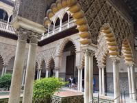 Die Alcazar in Sevilla