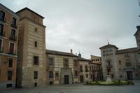 Plaza de la Villa, Casa/Torre de los Lujanes (links) Plast des Kardinal Cisneros