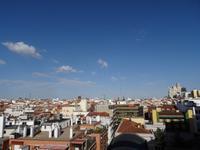 Dachlandschaft von Madrid
