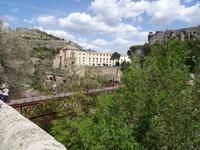 Blick zur Eisenbrücke Puente de San Pablo