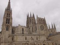 Die mächtige Kathedrale von Burgos