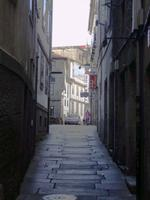 Gasse in Santiago