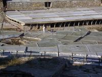 Beim Zusammenkehren des Salzes, Salinas de Añana