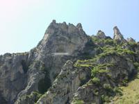 Bergwelt im Desfiladero de Pancorbo