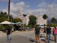 Santuario de la Ermita de la Isla de Toxa - eine völlig mit Jakobsmuschen verkleidete Kirche