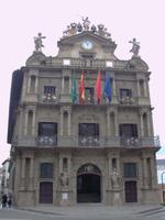 Pamplonas Rathaus