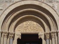 Tympanon von Sankt Isidor in Leon