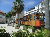 Die historische Straßenbahn in Port de Soller