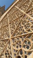 Hauptrosette in Kathedrale la Seu - Außenansicht direkt von oben!