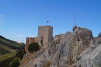Die Burg von Santa Catalina