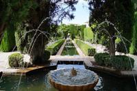 Wasserspiele in den Gärten des Generalife