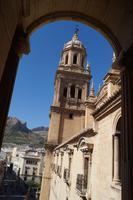 Von der Galerie der Kathedrale in Jaén