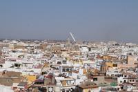 Blick über Sevilla von der Giralda aus.