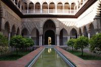 Patio de las Doncellas (Jungfrauenhof), Reales Alcázares de Sevilla