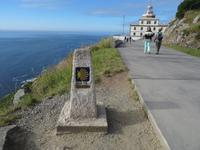 Kap Finisterra - das Ende der WElt bei Sonnenschein