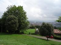 Blick auf Oviedo