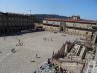 Kathedralenplatz in Santiago de Compostela