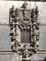 Manuelinisches Fenster in der Christusritterburg Tomar