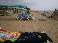 Strand in Calella
